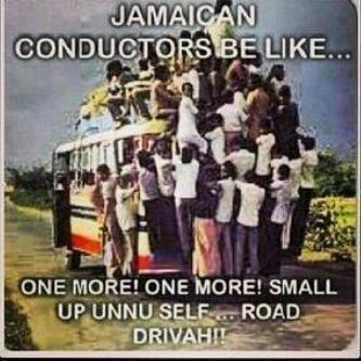 Jamaican conductors be like.... #JamaicansBeLike #Meme