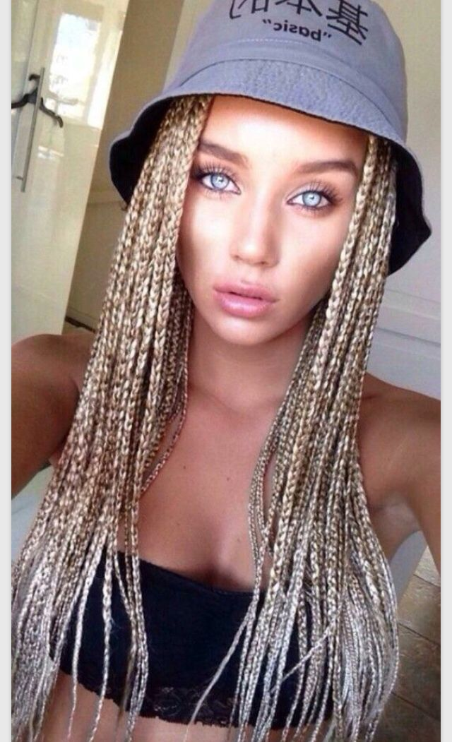 Hair Braiding Styles For White People 241 Best Box Braids Images On Pinterest  Box Braids Protective