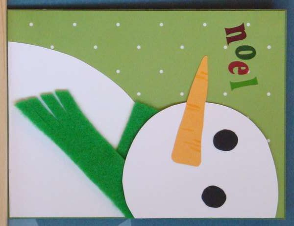 christmas card   Easy Great For kids class