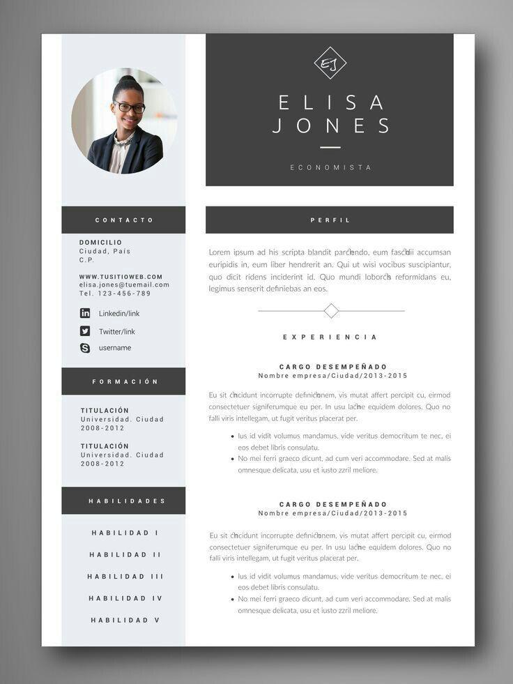 Pin Oleh Claudia Simatupang Di Coaching Desain Cv Desain Resume Cv Kreatif