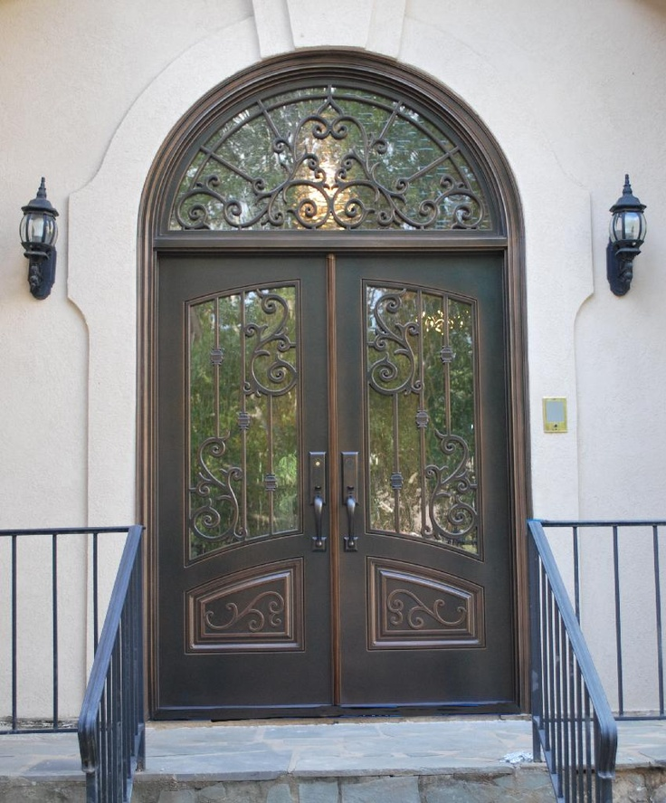 72 best front doors french country traditional images - Traditional french doors exterior ...
