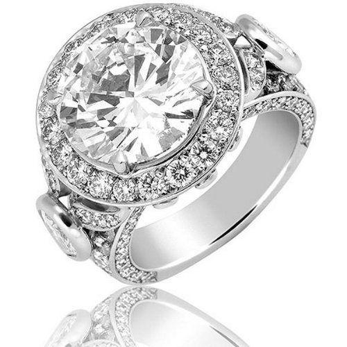 bague diamant 5 carats prix bijoux chic. Black Bedroom Furniture Sets. Home Design Ideas