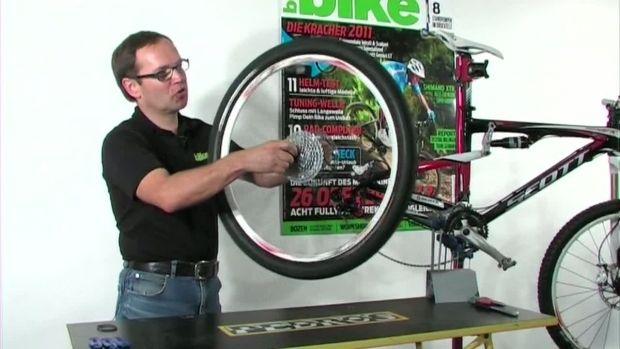 Workshop: Reifen und Schlauch wechseln
