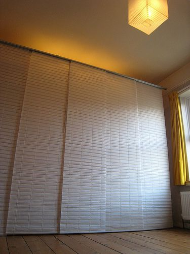 ikea panel curtain insitu - Google Search                                                                                                                                                                                 More