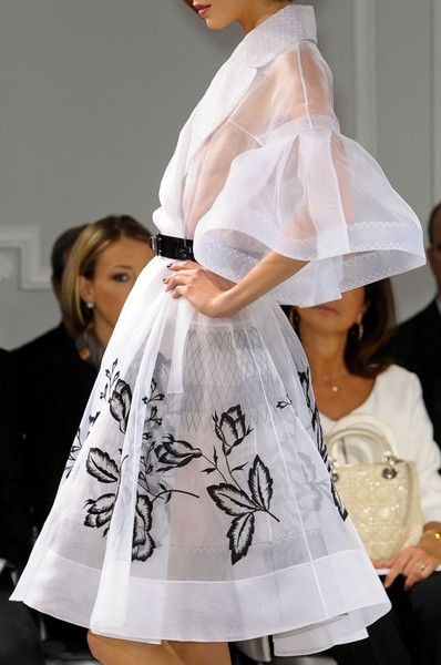 Christian Dior Couture Details Spring 2012 - Indulge in a Decade of Dior Couture Runway Details - Photos