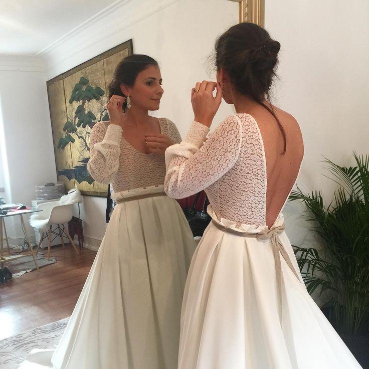 Sweet Sonia was one of our brides this weekend ❤️ She was gorgeous!  #purezamellobreyner #purezamellobreyneratelier