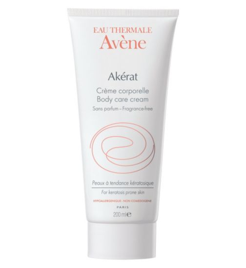Eau Thermale Avene Akerat Body Care Cream 200ml - Boots £15 / recommended for  KP skin condition