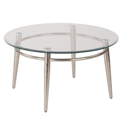 Brooklyn Round Glass Top Coffee Table | Pier 1 Imports