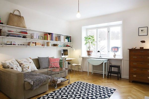 Nice space, nice rug