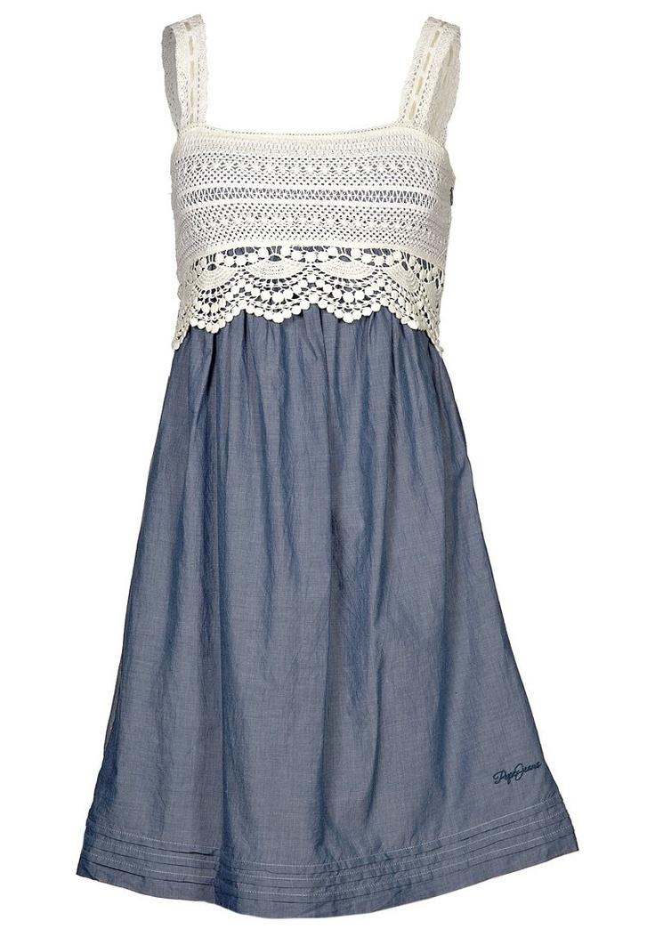summer dress - Pepe Jeans find more women fashion ideas on www.misspool.com