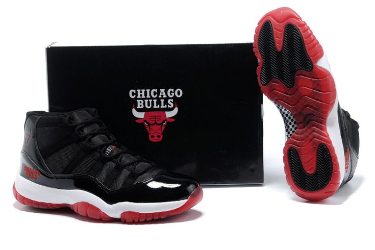 Nike Air Jordan 11 XI Chicago Bulls Mens Shoes 2013 White Black