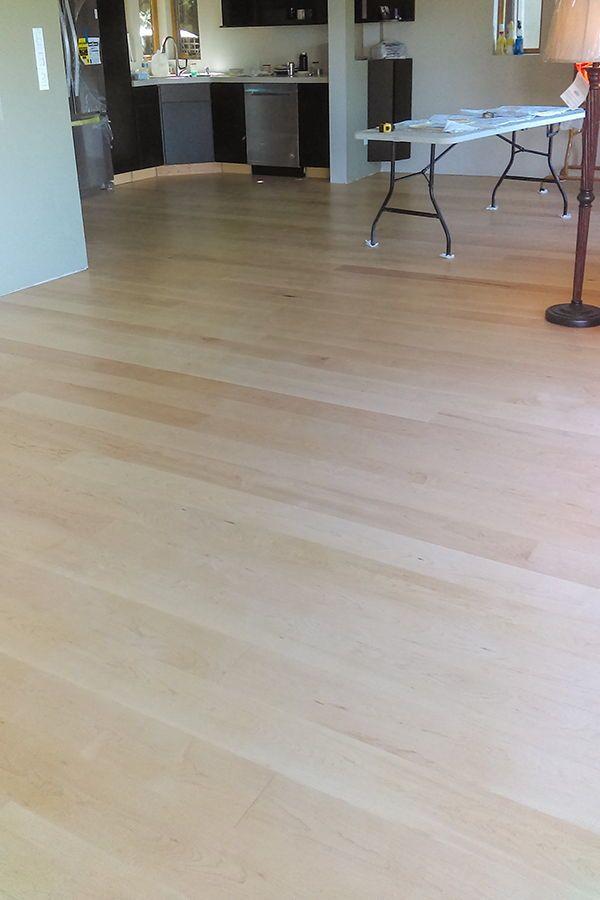 Maple Wide Plank Flooring Hardwood