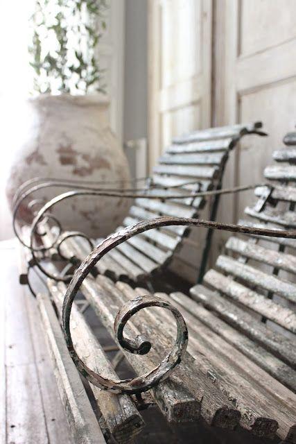 antique garden chairs