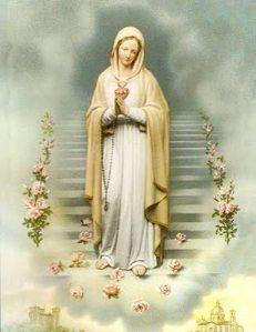rosa mistica   Virgen Maria Rosa Mistica y la hora de gracia del 8 de diciembre