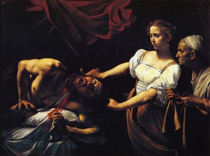 Caravaggio - Judith Beheading Holofernes, circa 1599
