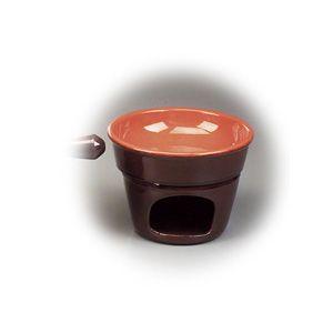 Arzator din ceramica din colectia Coccio ~ Distribuie in mod uniform caldura in tot preparatul.