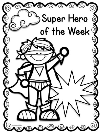 My Classroom Theme ~ Second Grade Super Heroes