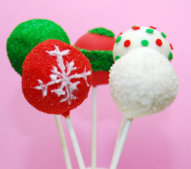 How To Decorate Cake Balls 121 Best Cake Pops Christmas Images On Pinterest  Christmas