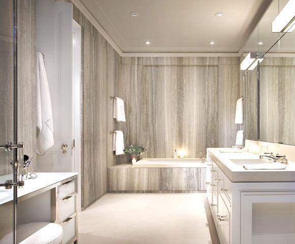 baño de mármol, una elegante opcion para tu hogar