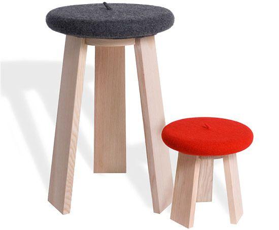 le tabéret - Design : Stefania di Petrillo & Godefroy de Virieu - Design Pyrénées