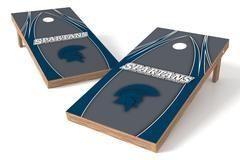 Case Western Spartans Single Cornhole Board - The Edge