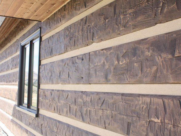 39 Best Images About Everlog Concrete Log Siding On