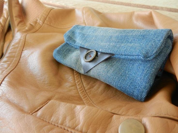 hand tobacco case  jean*