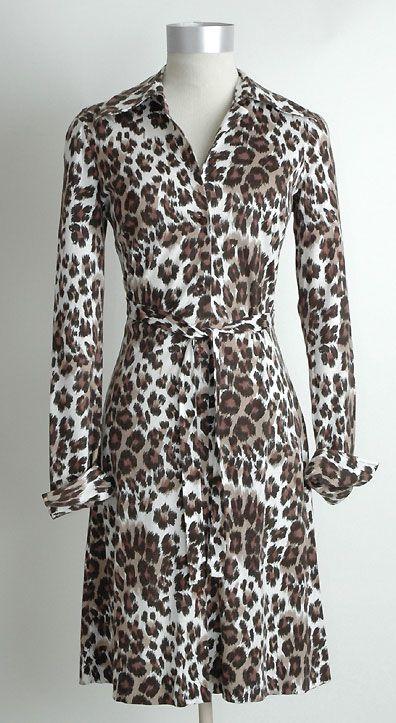 dvf vintage leopard