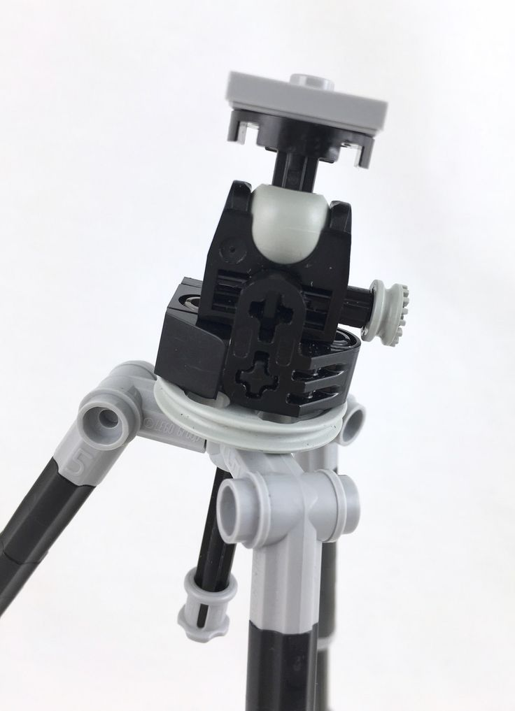 https://flic.kr/p/DfwNrU | Lego Camera, Tripod and Flash [Tripod Head Detail]