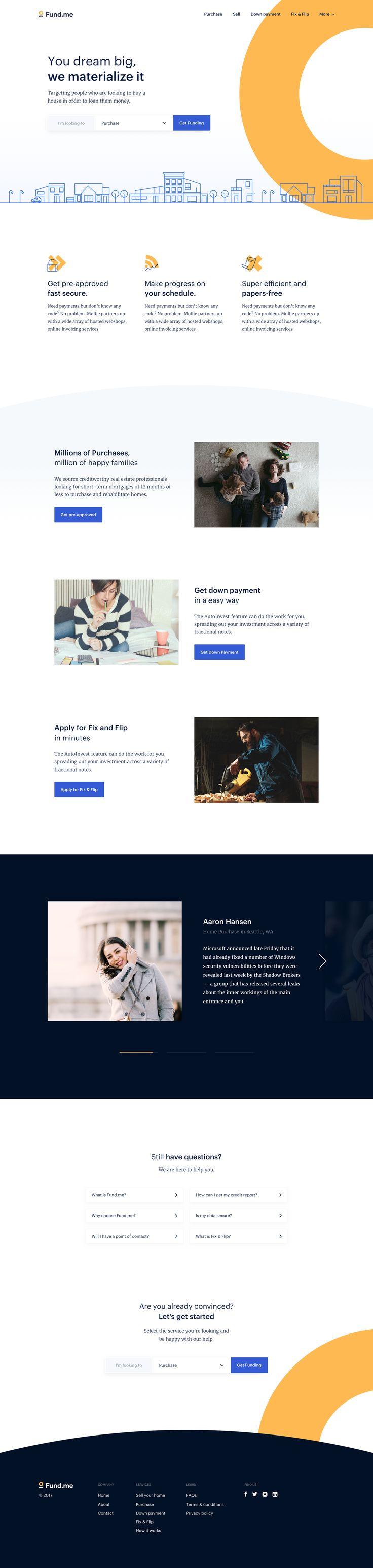 Fund.me homepage 2x
