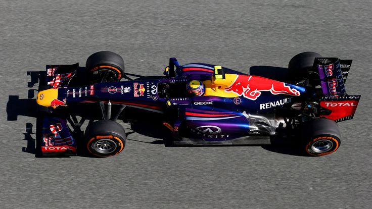 2013 Red Bull RB9 - Renault (Mark Webber)