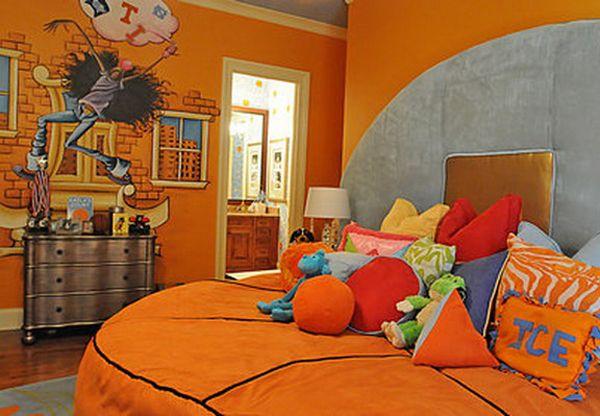 99 Best Basketball Bedroom Images On Pinterest Child