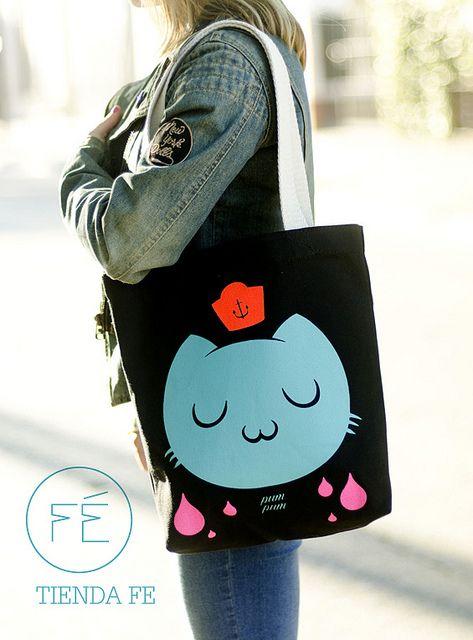 Bolso Pum Pum para Tienda Fe. by pum ⚓ pum, via Flickr