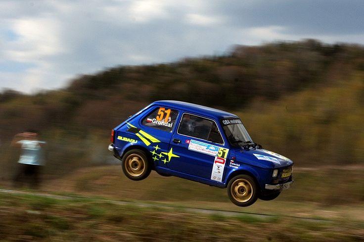 Subaru Justy jump
