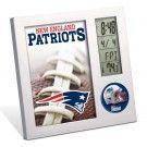 NEW ENGLAND PATRIOTS DESK CLOCK | #NewEngland #Massachusetts #Boston #Patriots #TomBrady #NewEnglandPatriots #Memorabilia #Sports #Merchandise #Football #NFL | Order Today At www.sportsnutemporium For Only $12.95