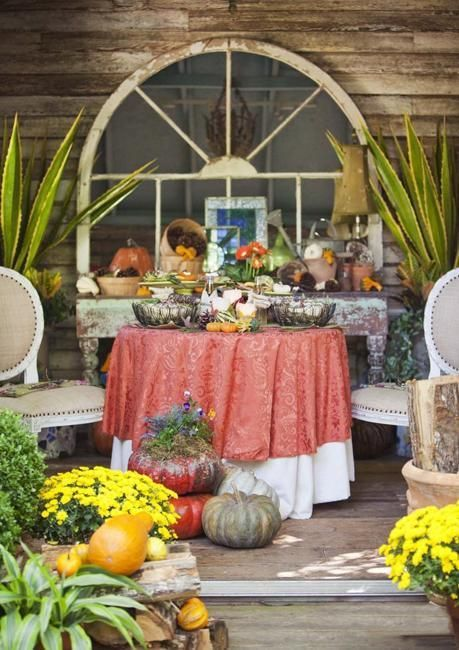 29 best images about autumn outdoor decor on pinterest for Front yard decor