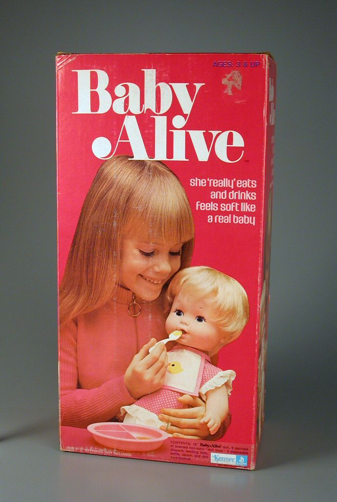 Baby Alive doll 1973 - I loved her so much as a kid