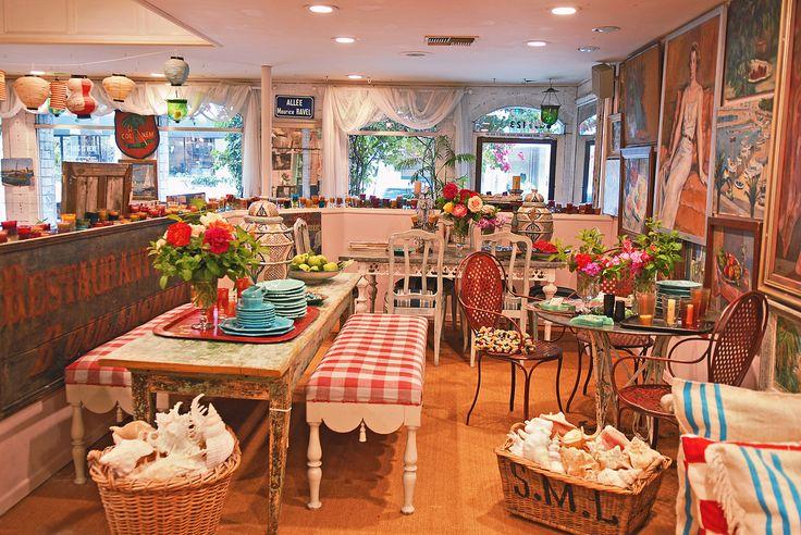 Having a restaurant like this one day. Indigo Seas - The Ivy Restaurants in Los Angeles & Santa Monica