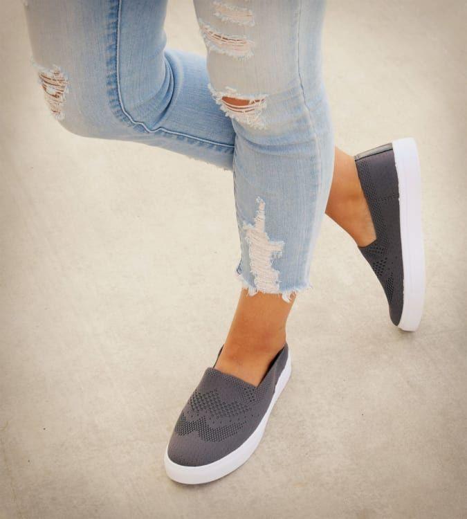 Perforated Comfort Sneaker