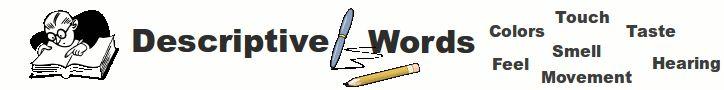 Descriptive Words Org