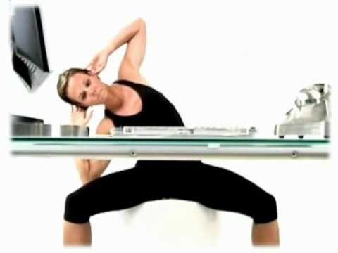 1000 images about office workout on pinterest office. Black Bedroom Furniture Sets. Home Design Ideas