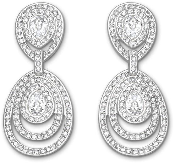 Swarovski, Tizian: Pierced Earrings, $245