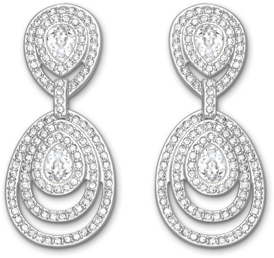 Swarovski, Tizian: Pierced Earrings, $245