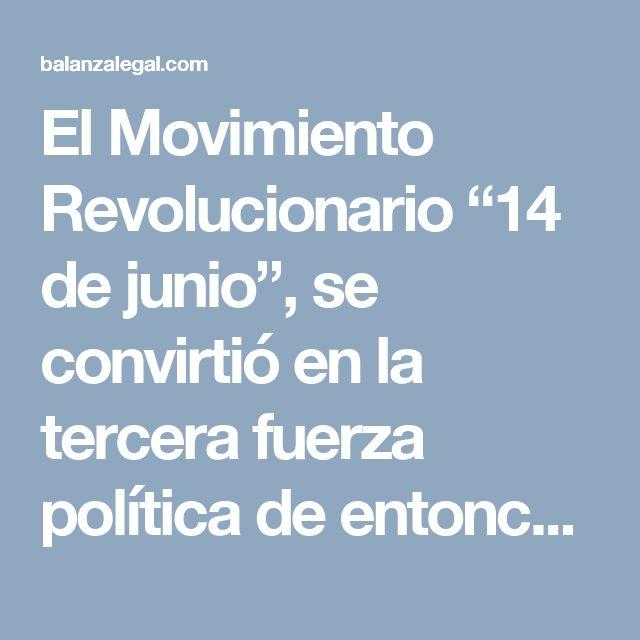"""El Movimiento Revolucionario """"14 de junio"""", se convirtió en la tercera fuerza política de entonces y la principal organización anti-imperialista, a través de su líder, Manuel Aurelio Tavárez Justo (conocido como """"Manolo"""") se había alertado al presidente Juan Bosh sobre la posibilidad de un golpe de Estado en su contra apoyado por la Iglesia, la Burguesía, el Alto Mando Militar y la Embajada de Estados Unidos. En una concentración en la puerta del Conde en Santo Domingo, afirmó '""""Óiganlo…"""