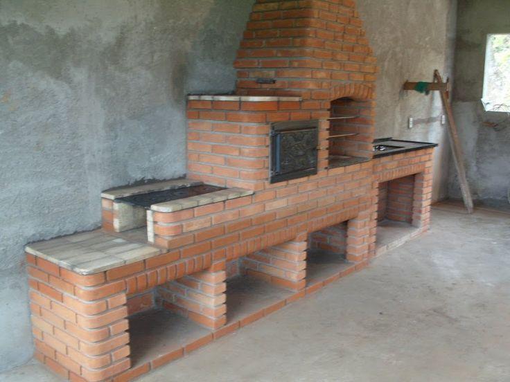 Construção de varanda Gourmet. Seu lazer levado á sério. 7 Grill Churrasqueiras