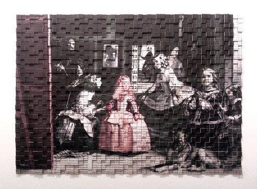 Tint Gallery :: Current exhibition (, A. Potamianou, On the Origin of Species - Las Meninas)