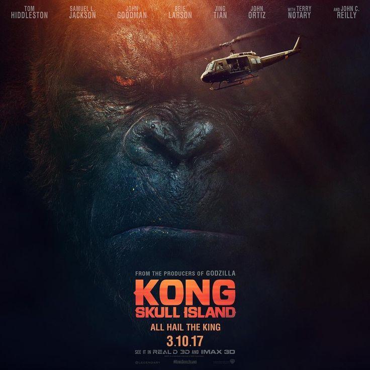 Kong: A Ilha da Caveira tem divulgado seu primeiro trailer  Kong: A Ilha da Caveira é o novo filme da Warner que contará o prelúdio do gorila mais famoso dos cinemas e sua ilha cheia de mistério. Confira mais no link!