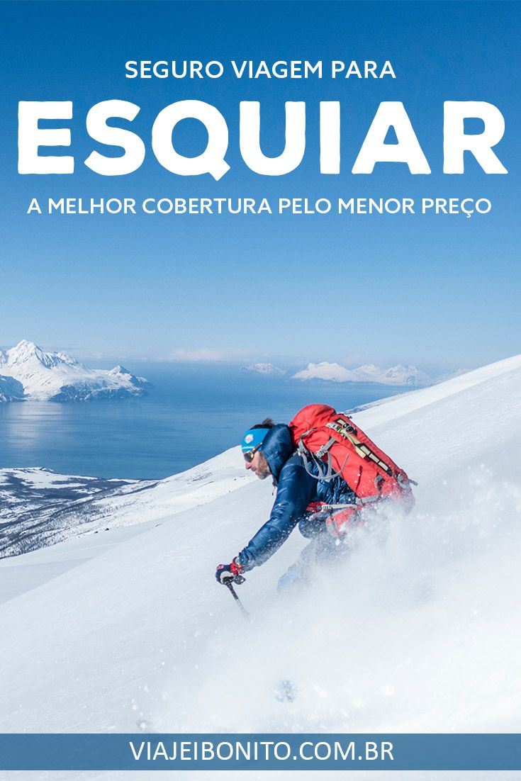 e1a1f948d Seguro viagem para esquiar e outros esportes radicais.  esqui  neve   snowboard