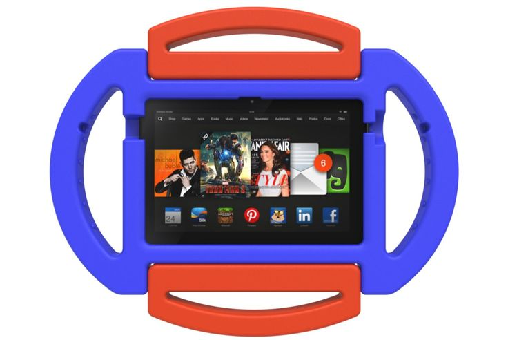 The Poetic Kid Series Case is a great choice for 7″ tablets that will be used by both adults and kids. The one featured here is for the Kindle Fire HDX (2013), but there are also versions available for the iPad Mini and Google Nexus 7. £9.95 http://childproofmytablet.com/poetic-kids-series-cases/ #poetic cases #kindle cases #ipad mini cases #google nexus cases #childproof #shockproof #handles #stand