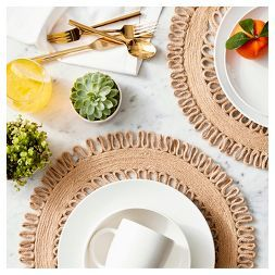 White & Natural Dinnerware Collection